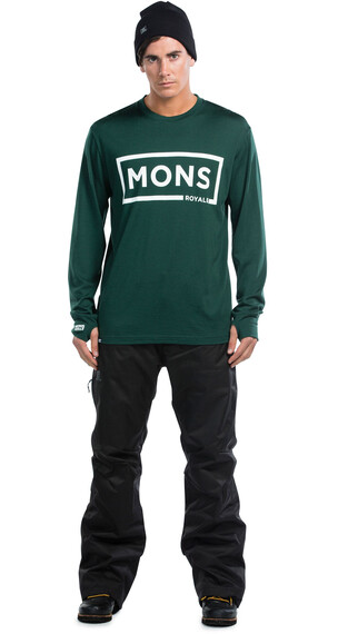 Mons Royale M's Original LS Green